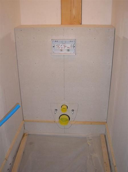 Habillage du WC suspendu - lumithero
