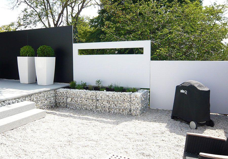 sichtschutz gardomo design gartenh user sichtschutzwand. Black Bedroom Furniture Sets. Home Design Ideas