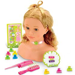 Klein Princess Coralie Hairstyling Head With Accessories For Ages 3 And Up From Mastermindtoys Com