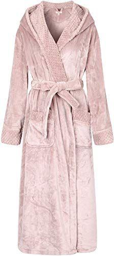 Photo of New Richie House Women's Soft  Warm Robe Bathrobe  Hood Size S-XL RHW2823 online shopping – Newclothingtrendy
