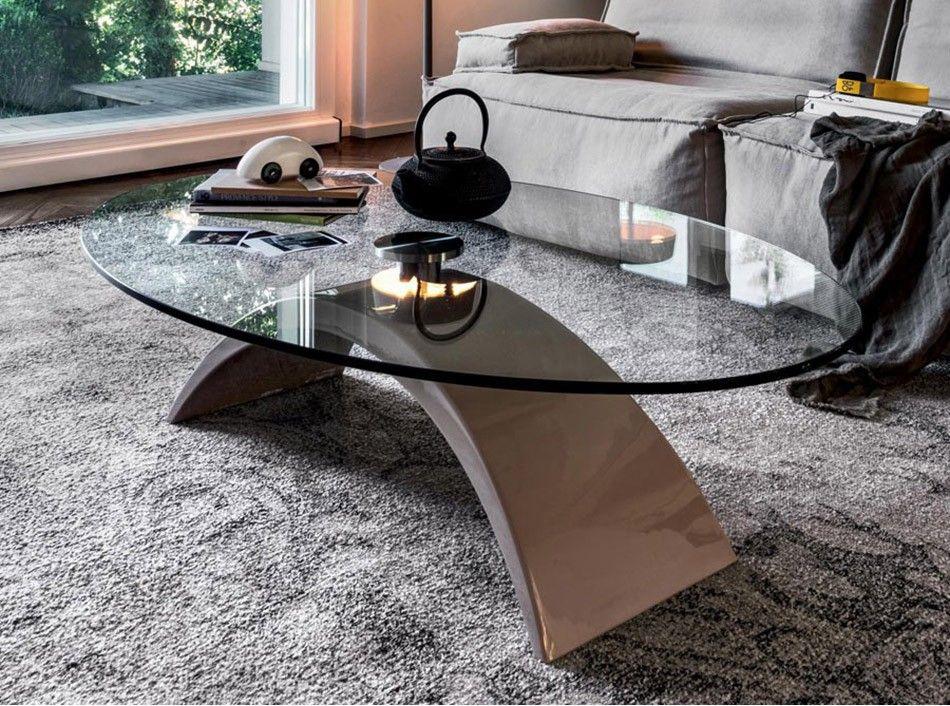 Tudor Coffee Table By Tonin Casa 1 025 00 Oval Coffee Tables