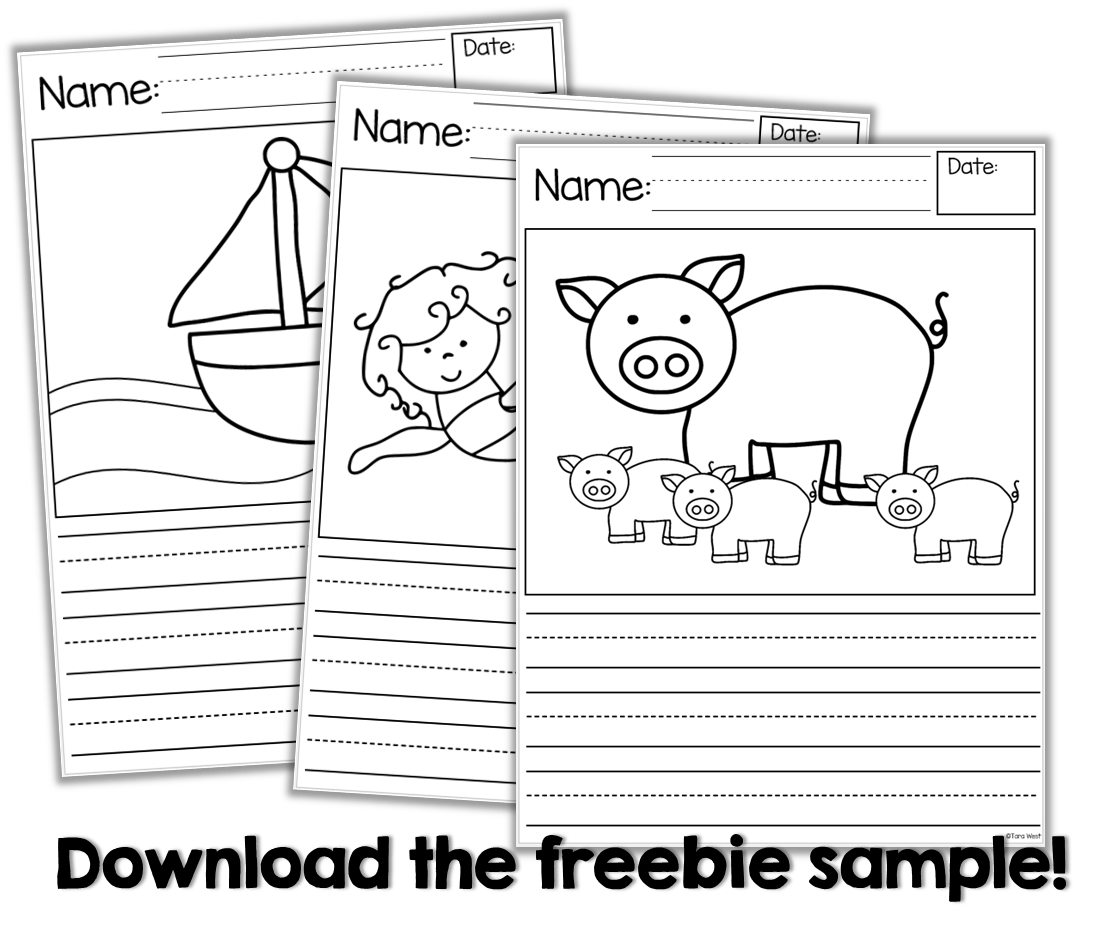 Writing Story Starters Freebie Too