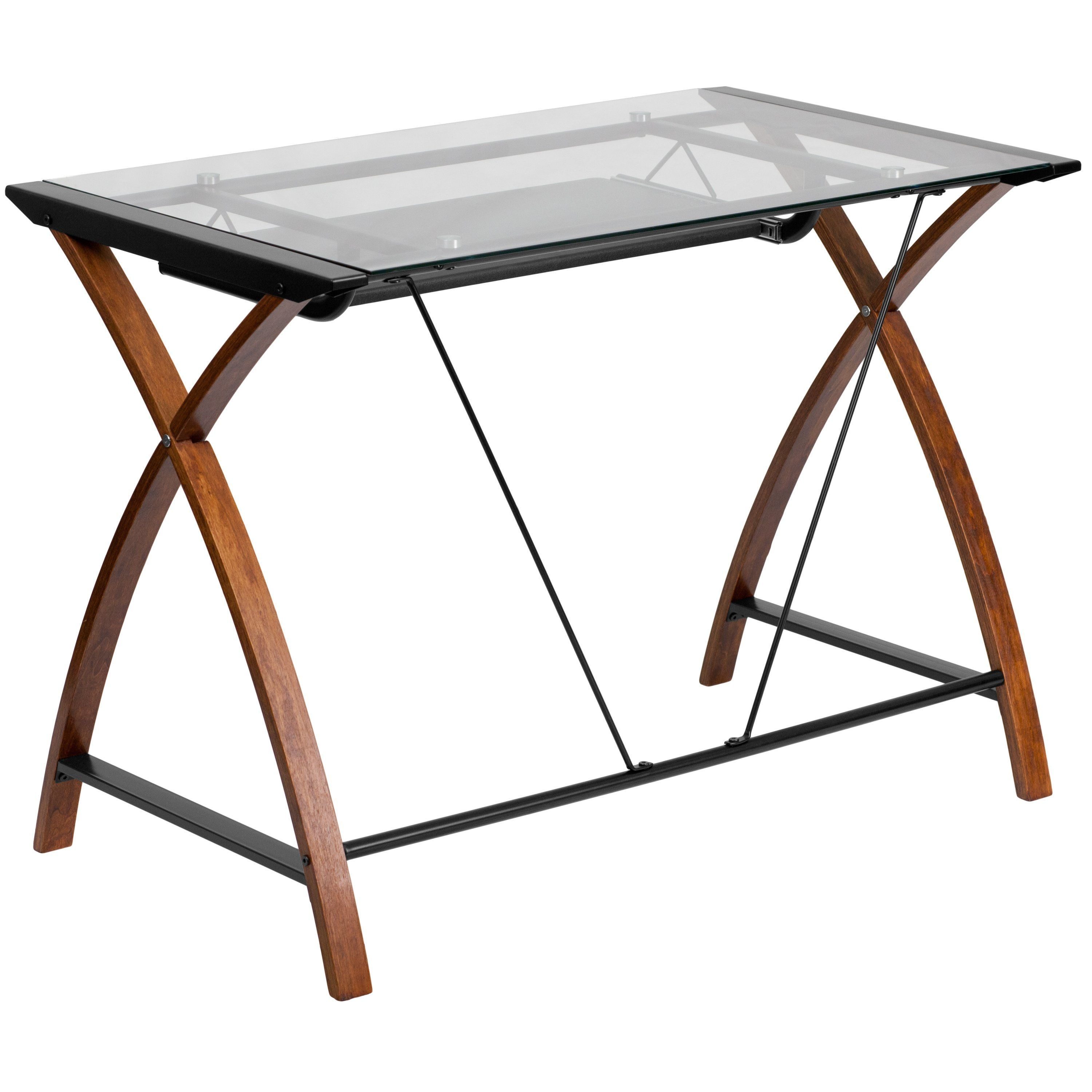 Mercury Row Cormack Pull Out Keyboard Writing Desk For The