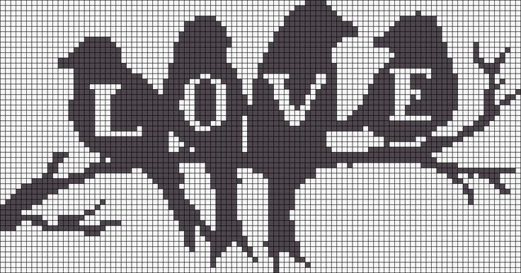Love birds Alpha Pattern # 17961 Vorschau hinzugefügt von CagedBird - #Alpha #birds #CagedBird #hinzugefügt #Love #Pattern #schwarz #von #Vorschau