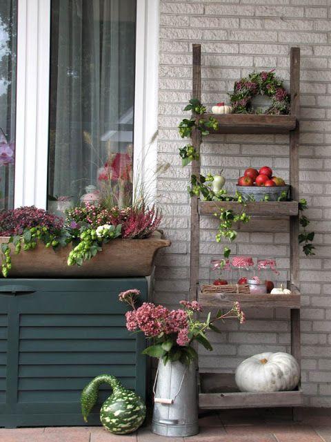 deko f r die terrasse decoration pinterest garten and gardens. Black Bedroom Furniture Sets. Home Design Ideas