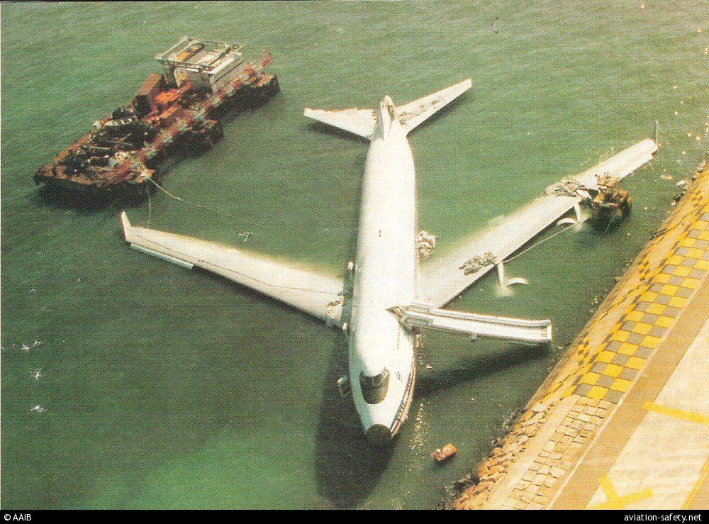 Pilot Error China Airlines Flight 605 (1993). Captain