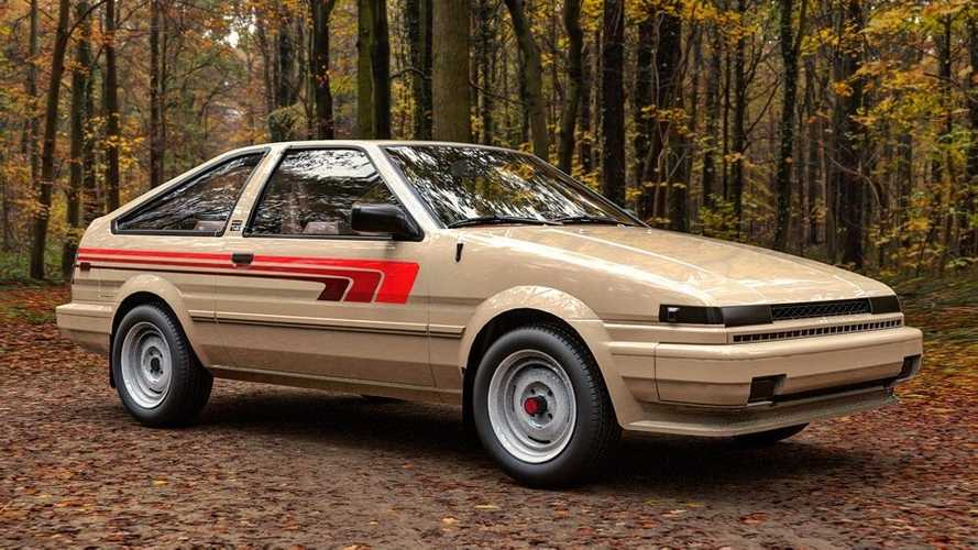 What If Toyota Had Made A Corolla 4x4 Sr5 In The 80s Toyota Corolla Toyota Toyota Van