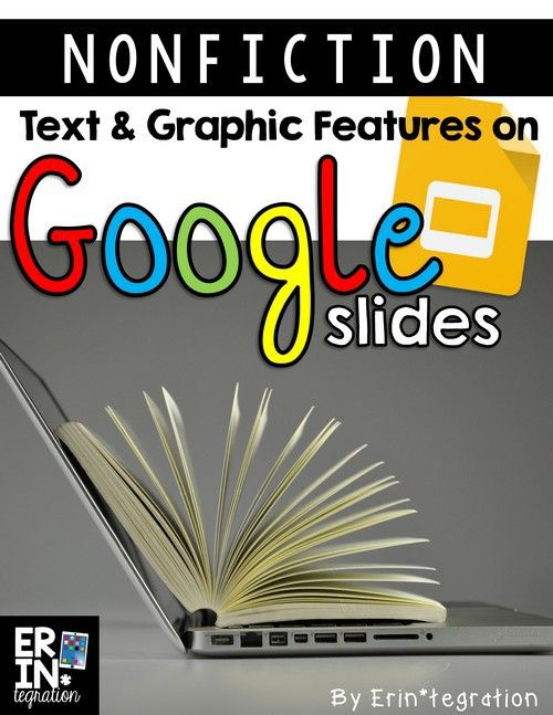 nonfiction text features on google slides | pinterest | free, Technology In The Classroom Free Presentation Template, Presentation templates