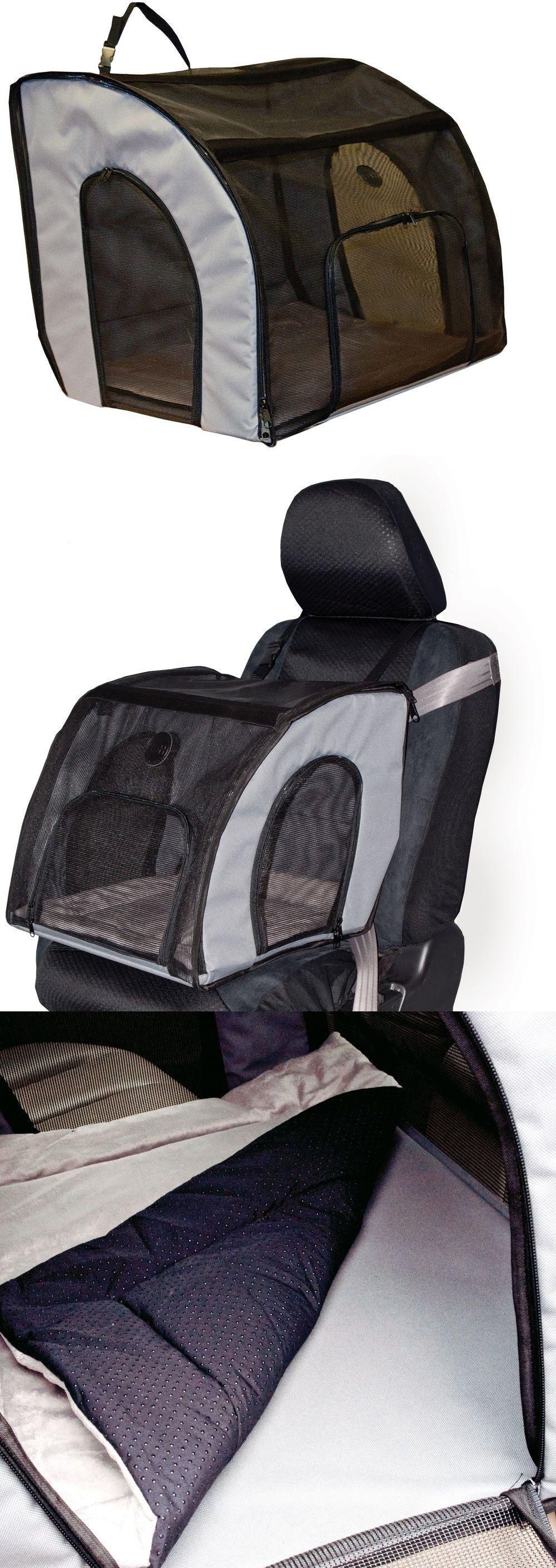Car seats and barriers travel safety carrier large pet