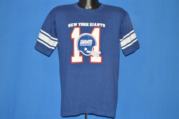 big sale e8418 d2e74 80s New York Giants Phil Simms #11 t-shirt Large in 2019 ...