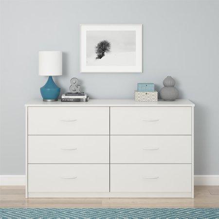 Home In 2020 6 Drawer Dresser Black Bedroom Furniture Dresser