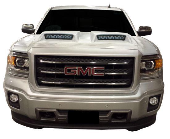 14 15 Gmc Sierra Ram Air Dual Scoop Power Hood Gmc Trucks Gmc Sierra Gmc