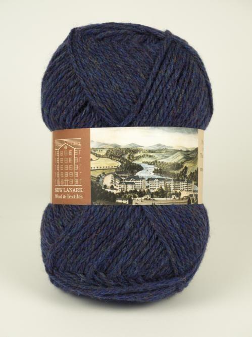 New Lanark Aran Wool, Blueberry #knitting #knit #wool#handknitting #newlanark#scotland #scottish #aran#100%wool #purewool