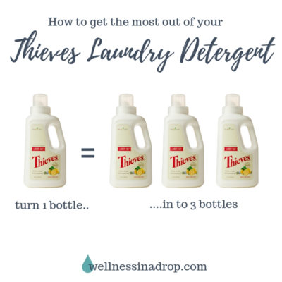 Turn Your Thieves Laundry Soap In To 3 Bottles Wellness In A