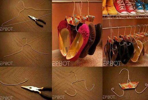 Organizador De Zapatos Casero