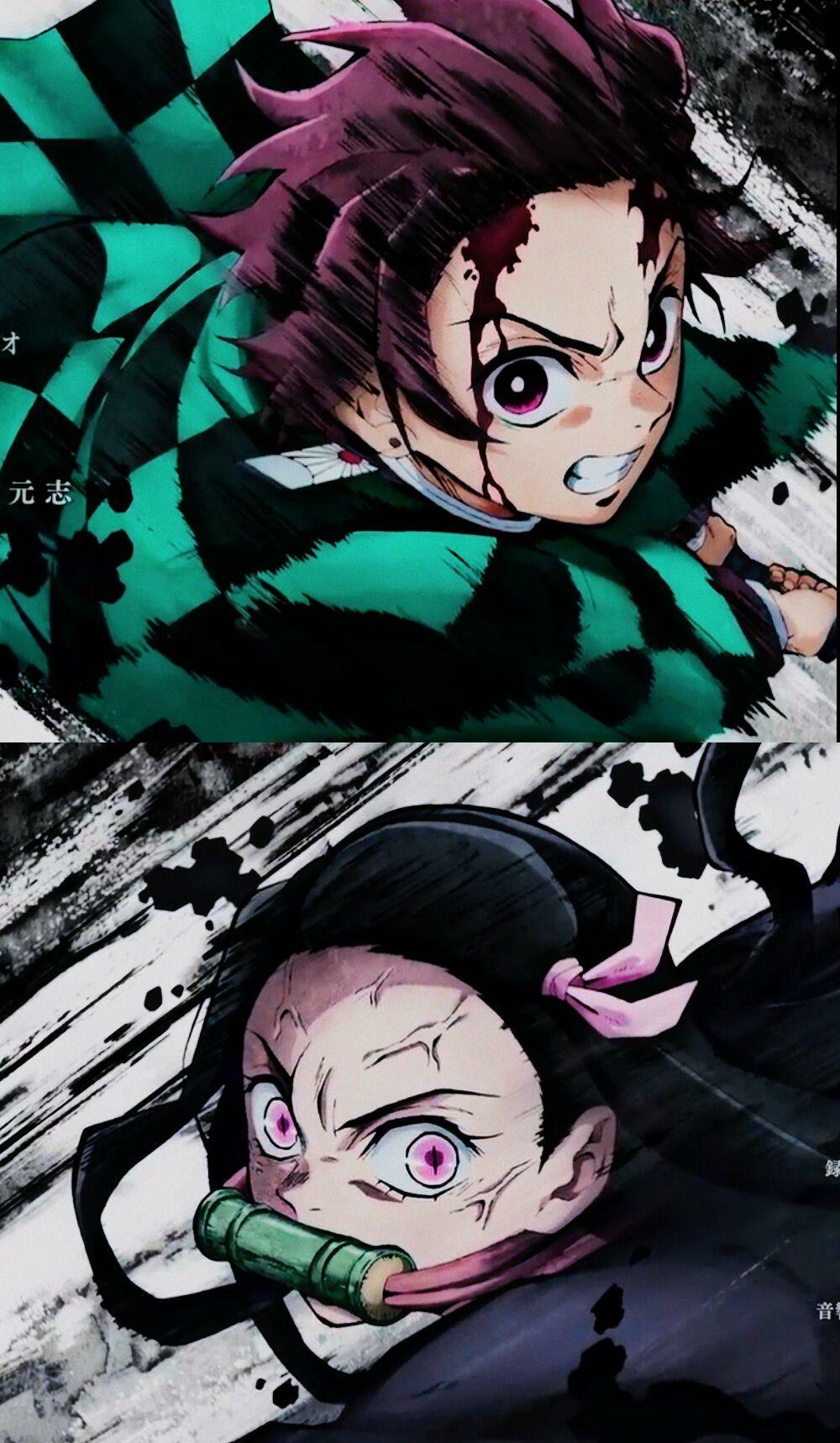 Wallpaper Kimetsu No Yaiba Fav Reblog If You Save Anime Demon Slayer Anime Anime Fanart Anime wallpaper demon slayer manga