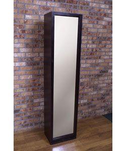 Artiva USA Bella Home Deluxe 71 Inch Merlot Full Length Mirror And Swivel  Cabinet/Shelving Unit | Home Ideas | Pinterest