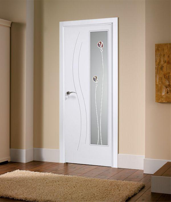 Decoracion puertas blancas interesting cmo decorar un for Puertas de madera blancas