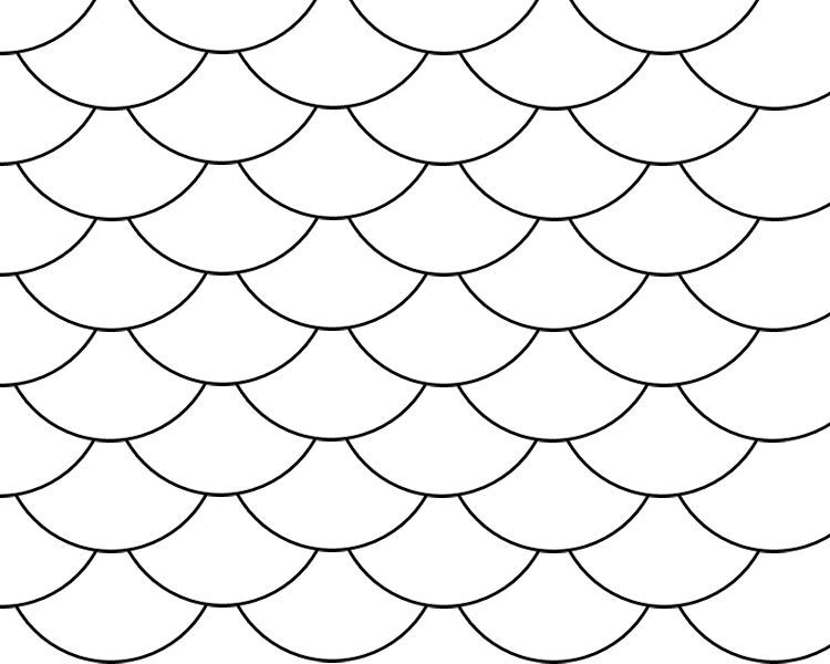 fish scale pattern fish scales stencils scale pattern