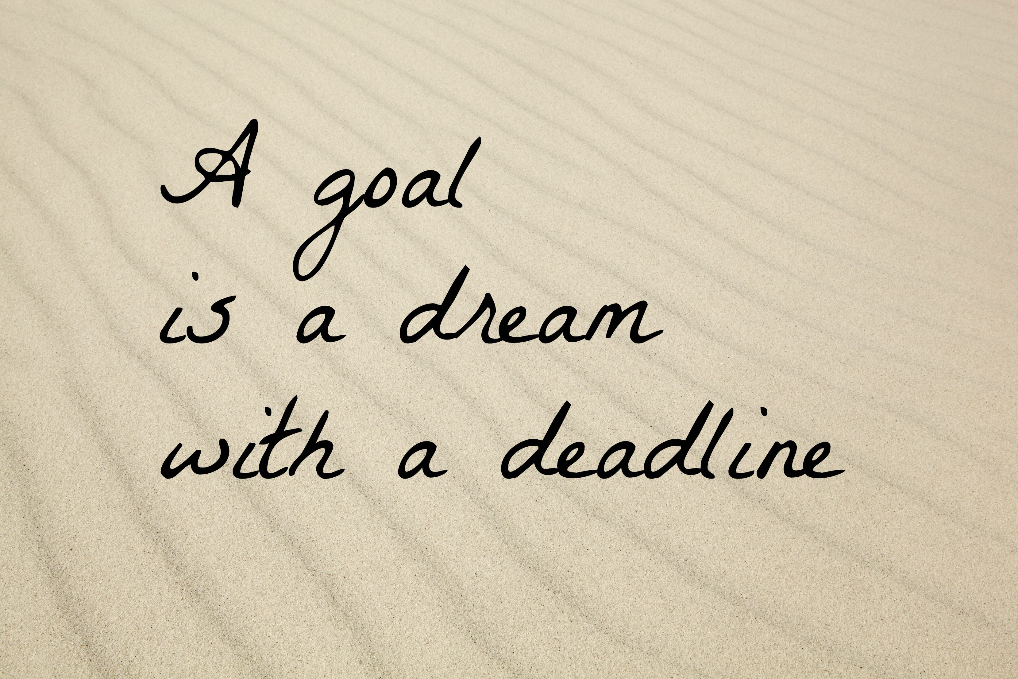 What is your goal?