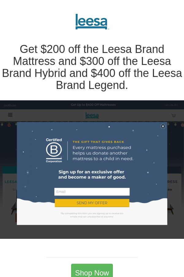 Get 200 Off The Leesa Brand Mattress And 300 Off The Leesa Brand Hybrid And 400 Off The Leesa Brand Legend Leesa Mattress Organic Sheets