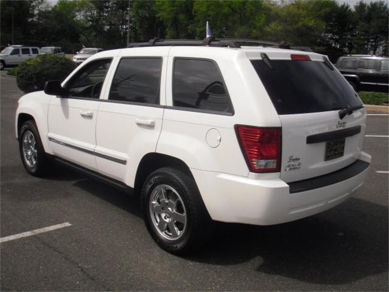 2009 Jeep Grand Cherokee Laredo >> Stone White Clear Coat 2009 Jeep Grand Cherokee Laredo 4x4
