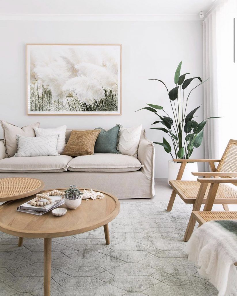 Photo of A soft artwork in living room