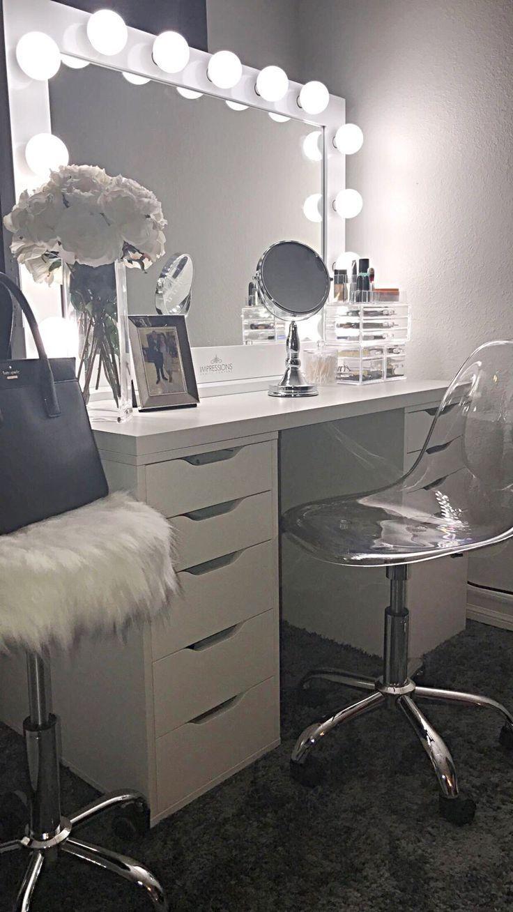 Photo of 23+ DIY Makeup Raum Ideen, Veranstalter, Lagerung und Dekoration
