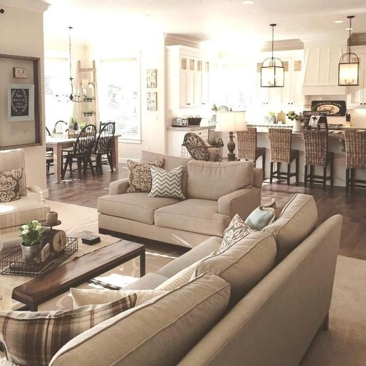Best 50 Cozy Rustic Farmhouse Style Living Room Design And 640 x 480