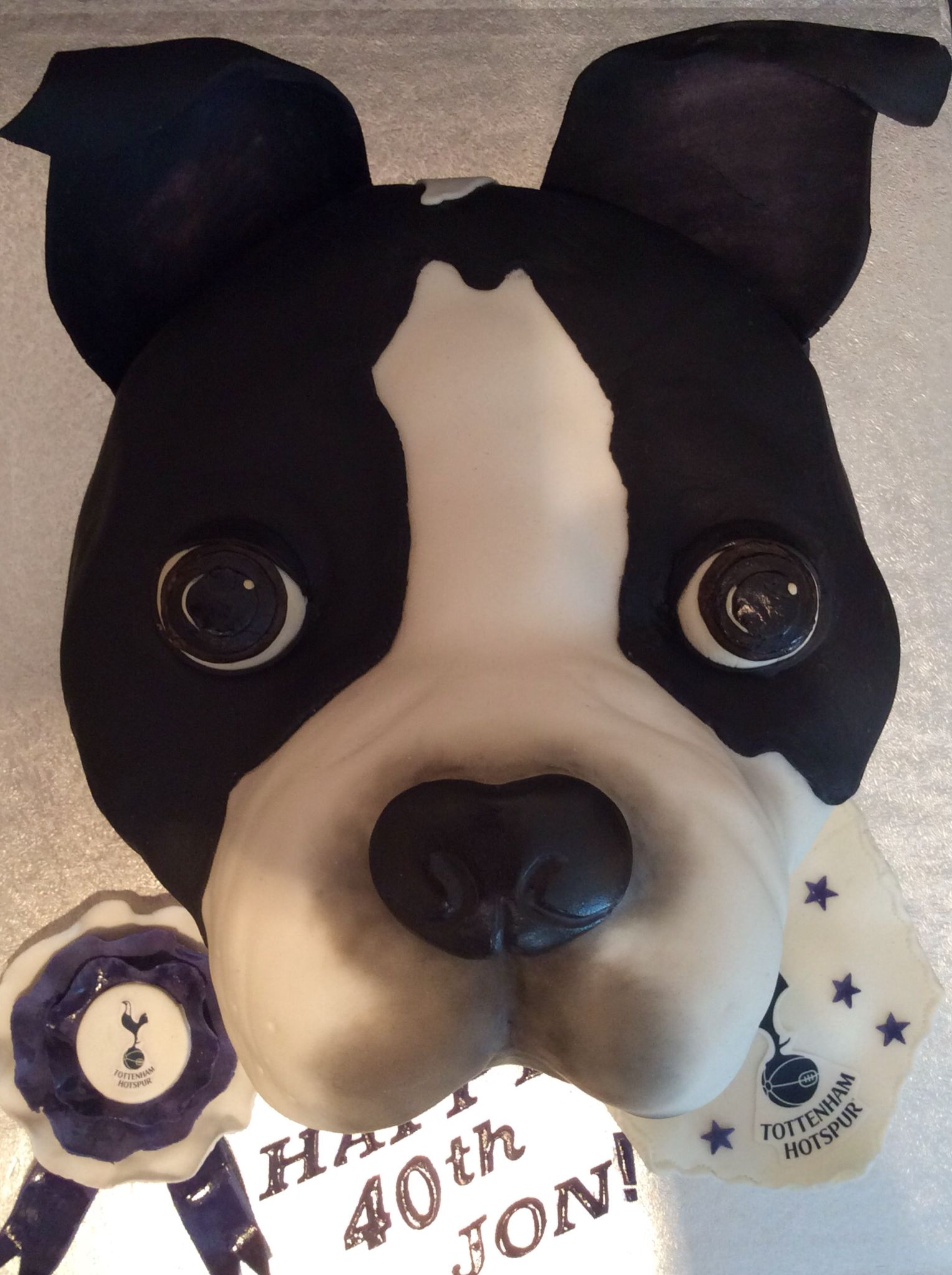 Boston Terrier Birthday Cake Terriers Buddy Valastro 3d Dog