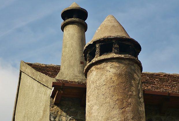 Las famosas chimeneas troncocónicas