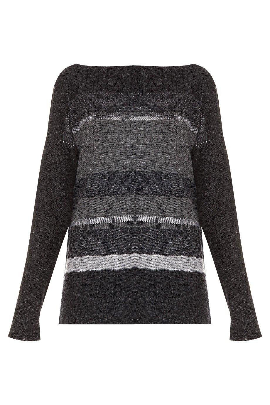 Marl Stripe Jumper By VINCE @ http://www.boutique1.com/