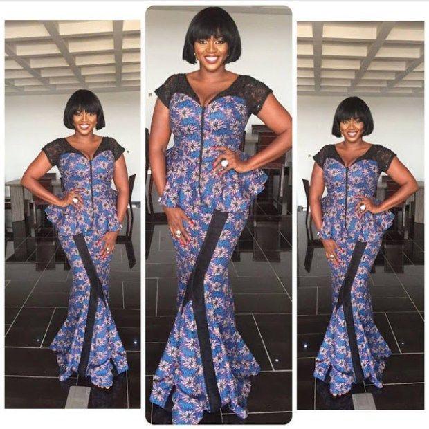 bf74dec1cbc 14 Trendy Ankara Skirt And Blouse Styles For Plus Size Women -  AfroCosmopolitan