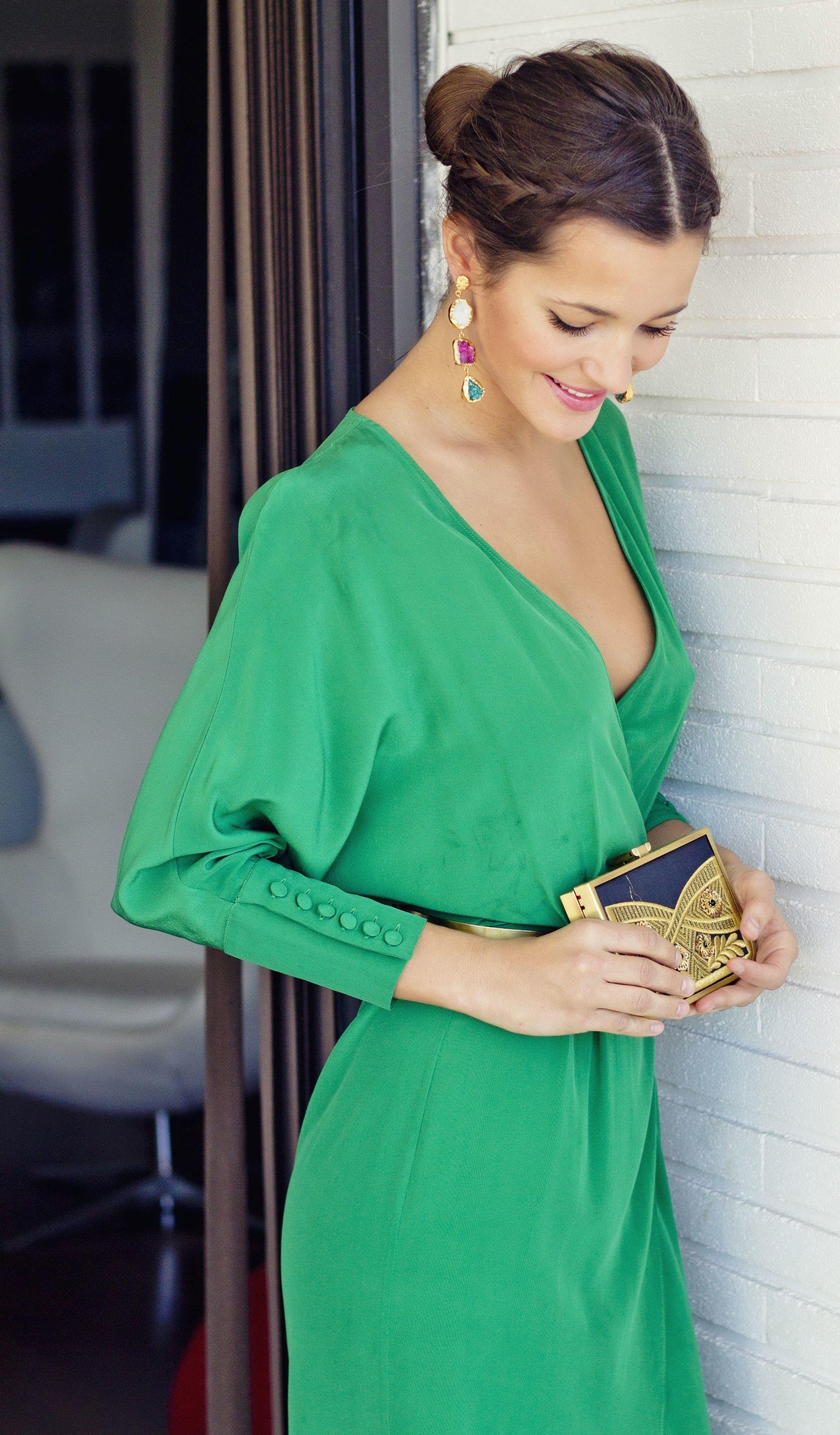 Vestidos de novia verde esmeralda
