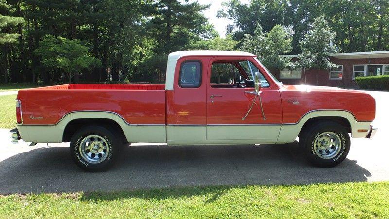 Buy Used 73 1973 Dodge D100 Club Cab Adventurer In Lexington Kentucky United States Dodge Dodge Pickup Old Dodge Trucks