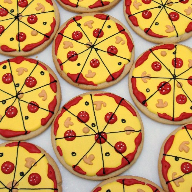 Pizza, Pizza Cookies, Pizza Cookie, Shakey's Pizza, Pizza