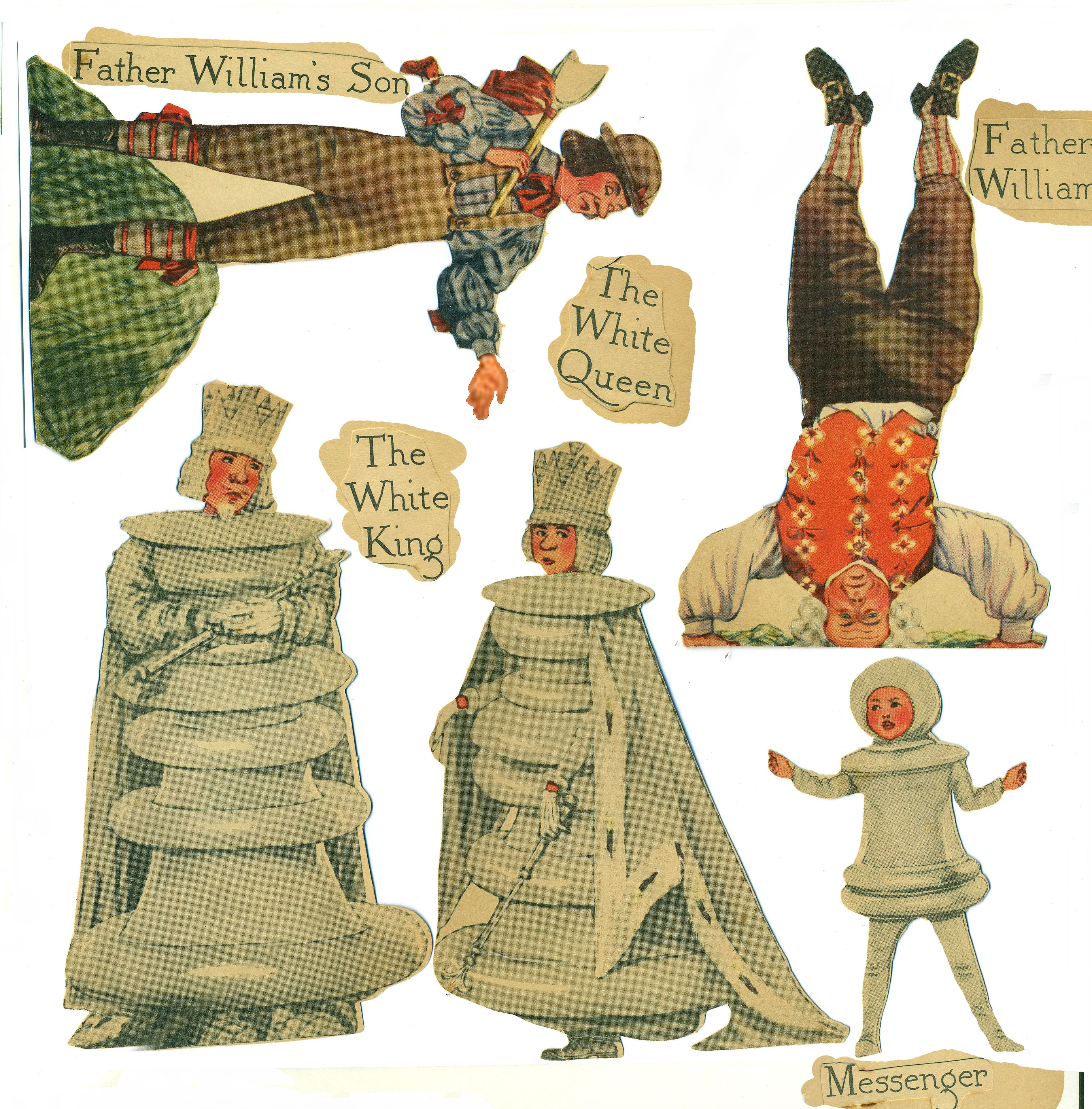 Album Google Alice In Wonderland Vintage Paper Dolls Alice