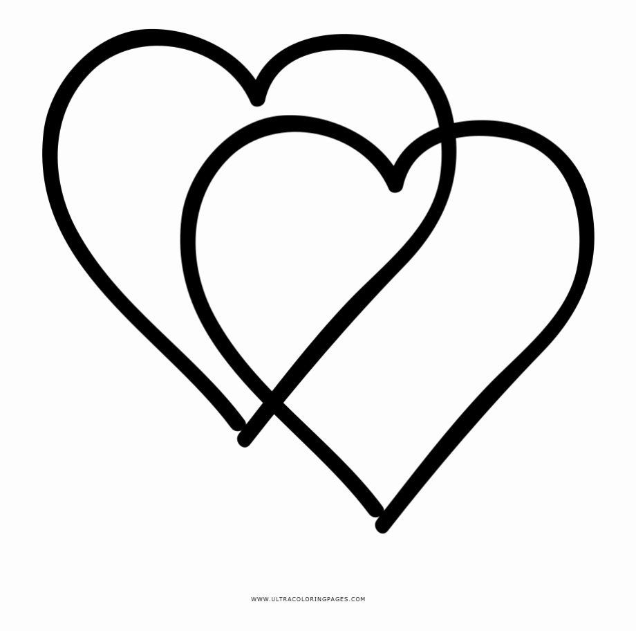 Coloring Cartoon Hearts Unique Of Double Heart Coloring Pages Sabadaphnecottage In 2020 Heart Coloring Pages Cartoon Heart Coloring Pages