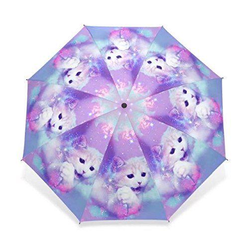 77b26dc7bdb7 BAIHUISHOP Umbrella, Compact Travel Windproof Golf Umbrella, Sports ...