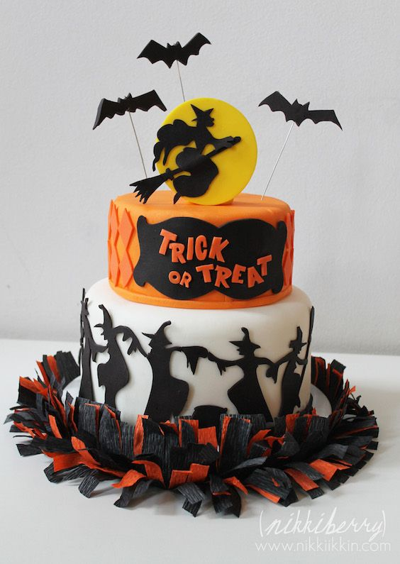 20 Halloween Cake Ideas To Try Right Now Cake, Halloween cakes and - halloween cake decorations
