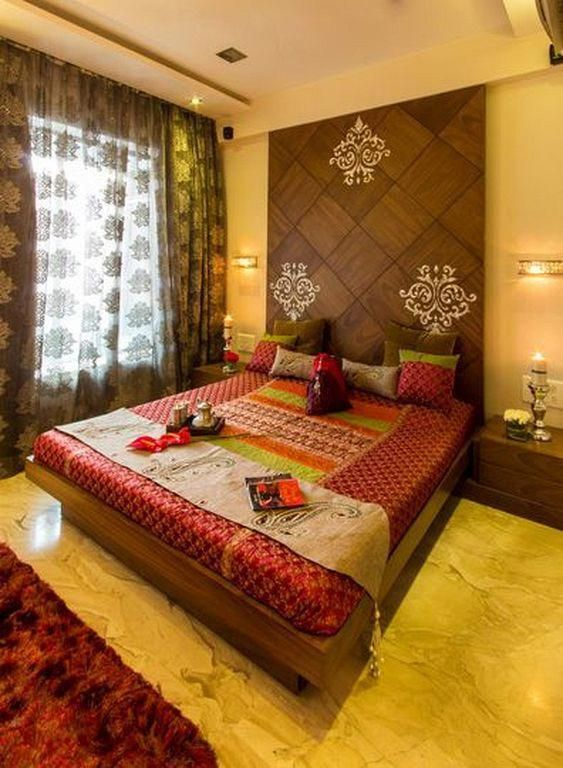 modern bedroom design and decorating ideas with indian style awesomeinteriordesigntips also rh pinterest