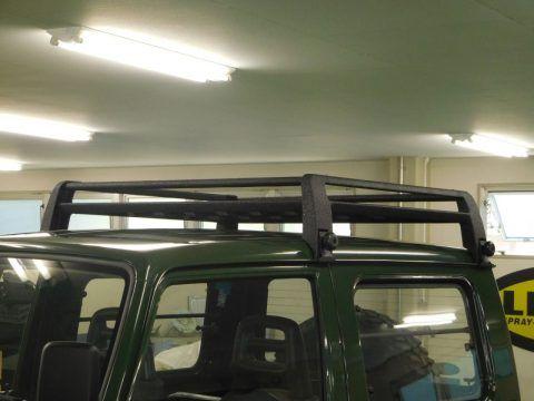 ジムニーja11 ルーフラック Line X塗装 Suzuki Jimny ジムニー Ja11