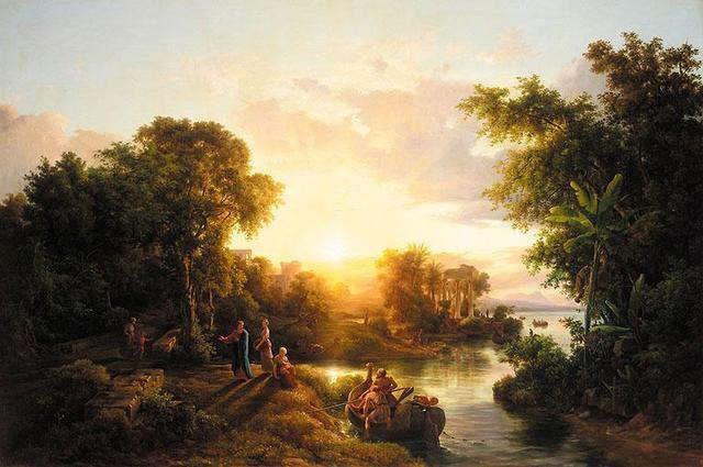 Markó Károly the Elder - A Classical Landscape
