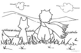 Disegno Volpe Piccolo Principe.Risultati Immagini Per Schede Piccolo Principe Colorare