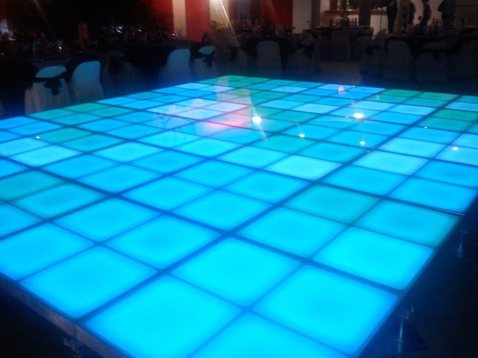 Pista Iluminada LED, 12 canales DMX. Fabricada en aluminio ...