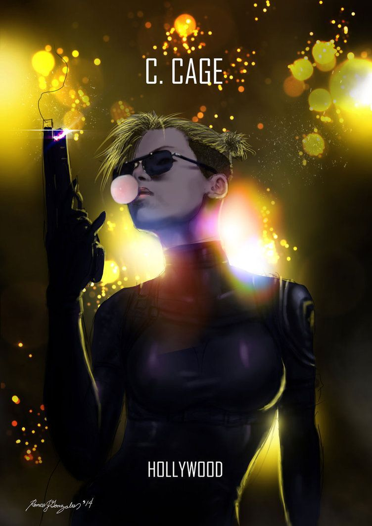 Mortal Kombat X Cassie Cage Hollywood By Grapiqkad On Deviantart