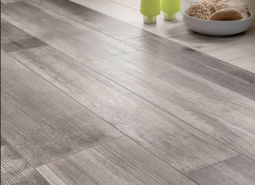 Wood Look Tiles Grey Wooden Floor
