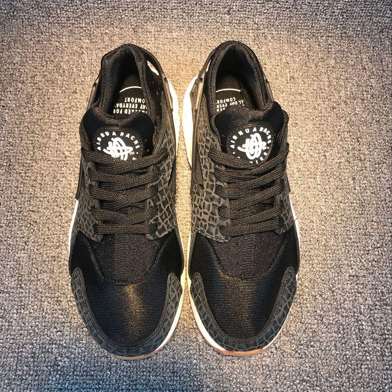 purchase cheap b173a ade33 Pas Cher Uk New Nike Air Huarache EUR 36-45 Black Noir White blanc 683818  011 Youth Big Boys Shoes