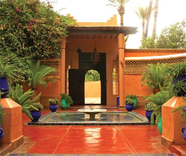 Jardin Yves Saint Laurent Marrakech: Jardín Majorelle El Jardín De Yves Saint Laurent