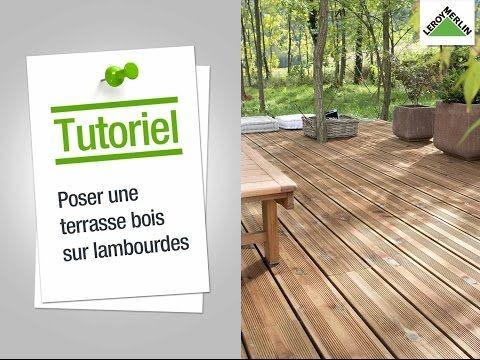 Comment poser une terrasse en bois sur lambourdes ? Leroy Merlin - construire sa terrasse en bois soimeme